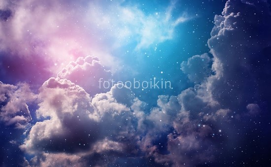 Фотообои Облака и звезды
