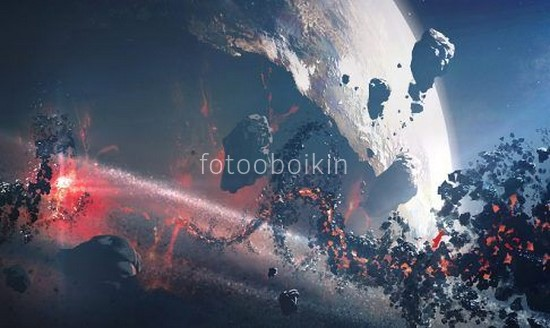 Фотообои Астероиды