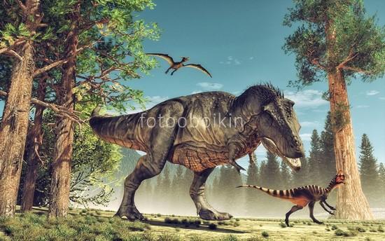 Фотообои Динозавры в детскую