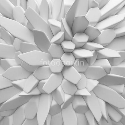 Фотообои Белые 3д