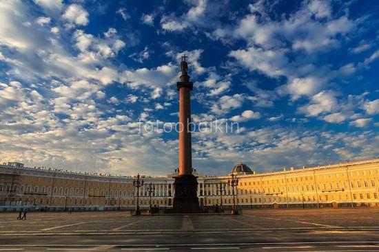 Фотообои Александровская колонна