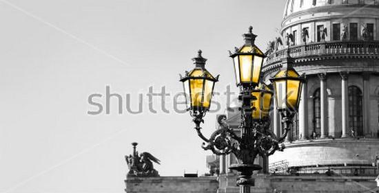 Фотообои Фонари в Санкт-Петербурге
