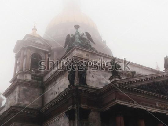 Фотообои Статуи на соборе