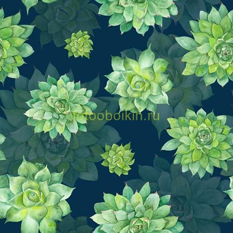 Фотообои Зеленые цветы