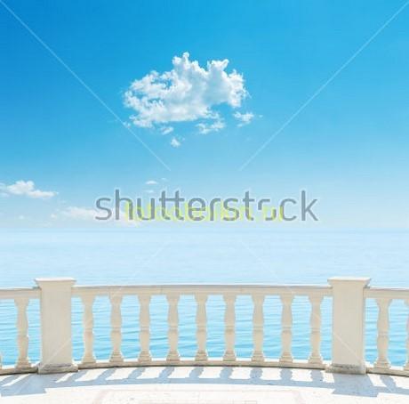 Фотообои Балкон и облако