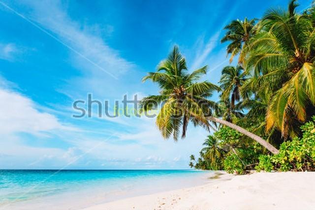 Фотообои Остров Мальдивы