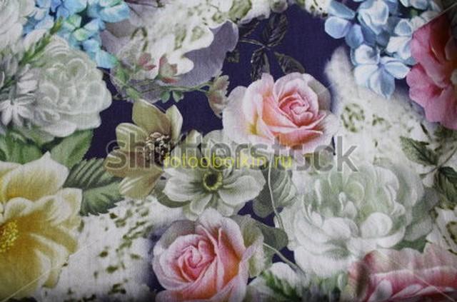 Фотообои Цветочный орнамент