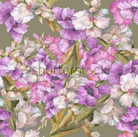 Фотообои Фиолетовые цветы