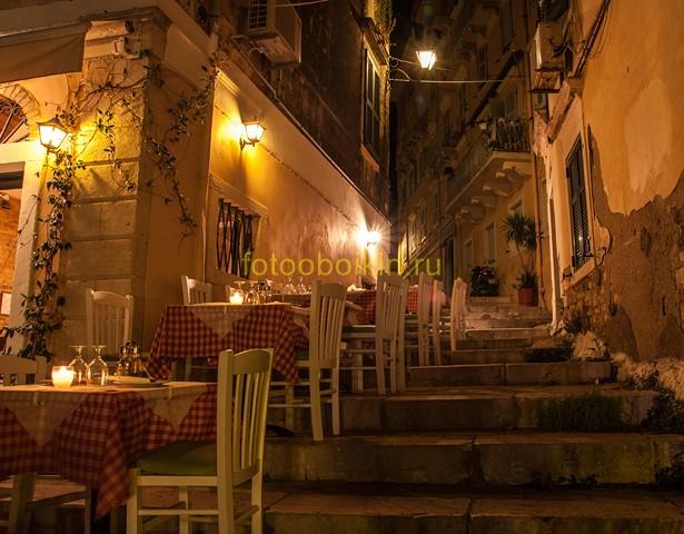 Фотообои Уличное кафе