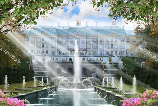 Фотообои Фонтаны в Санкт-Петербурге