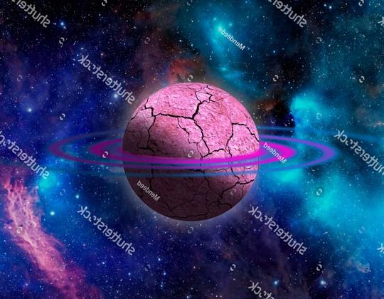 Фотообои Юпитер фиолетовый