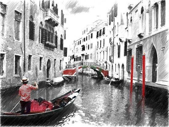 Фотообои Канал в Венеции