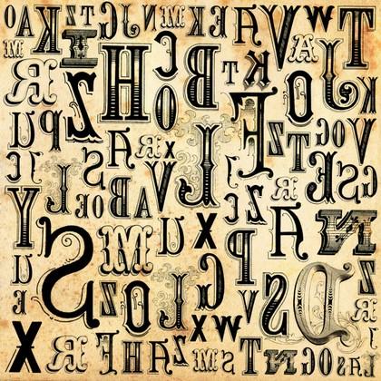 Фотообои Буквы на постере