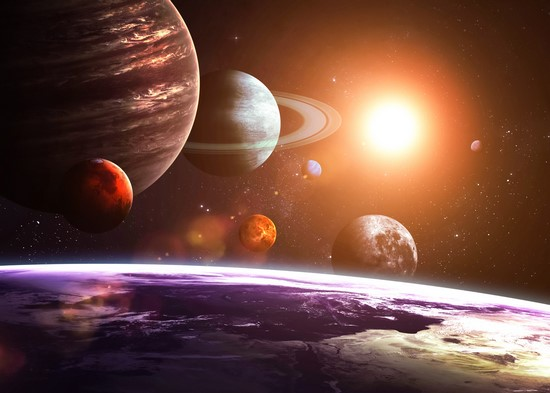 Фотообои Ряд планет