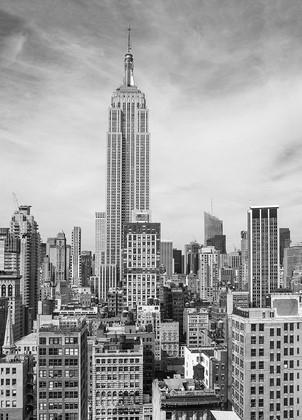 Фотообои Небоскребы в черно-белой гамме