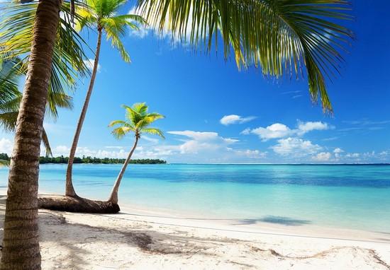 Фотообои Пляж с прозрачной водой