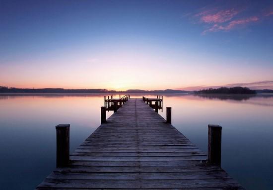 Фотообои Дорога в озеро