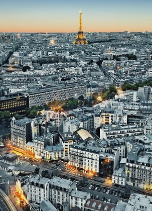Фотообои Парижский город