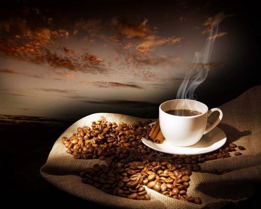 Фотообои Чашка крепкого кофе