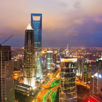 Фотообои Ночная жизнь в столице
