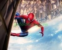 Человек-паук над городом