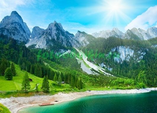 Фотообои Заснеженные вершины
