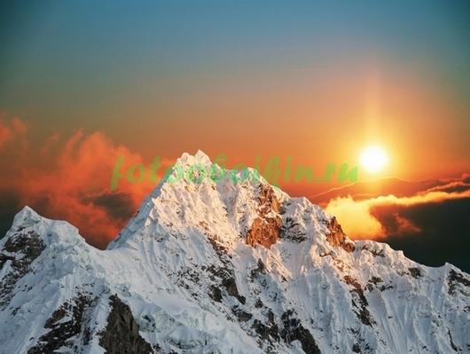 Фотообои На вершине Эвереста