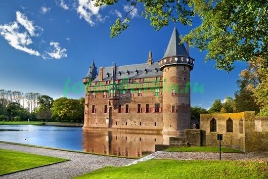 Фотообои Замок во Франции