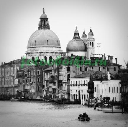 Фотообои Венеция чб фото