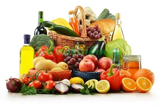 Фотообои Овощи и масла