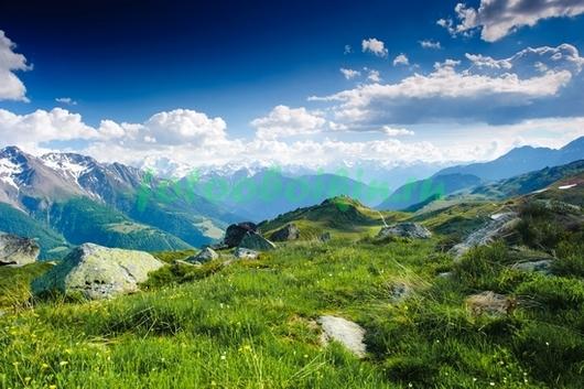 Фотообои Высоко в горах