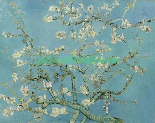 Фотообои Ветка с белыми цветами