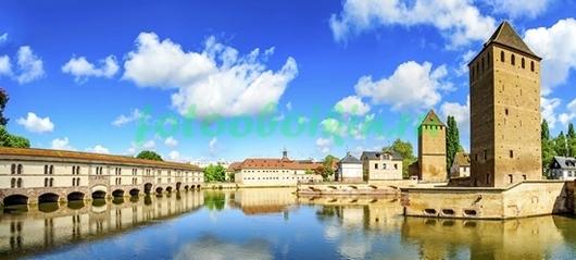 Фотообои Замок в Страсбурге