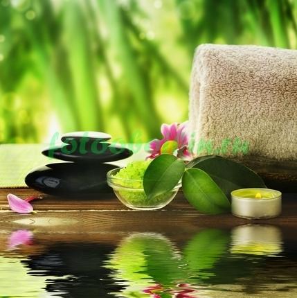 Фотообои Вода и бамбук