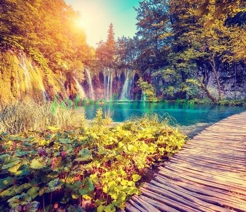 Фотообои Шумящий водопад