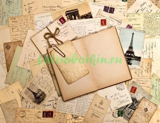 Фотообои Пачка писемь