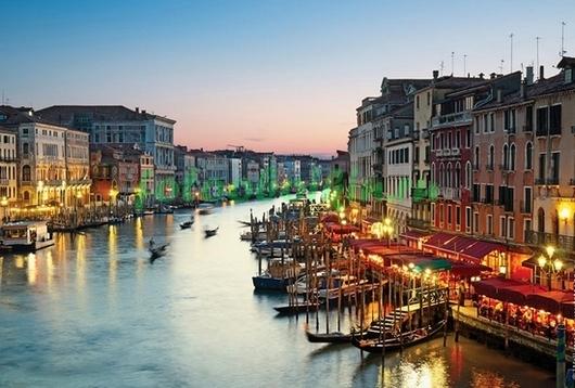 Фотообои Венеция вечером
