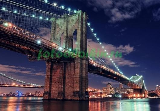 Фотообои Красивый мост Нью-Йорка