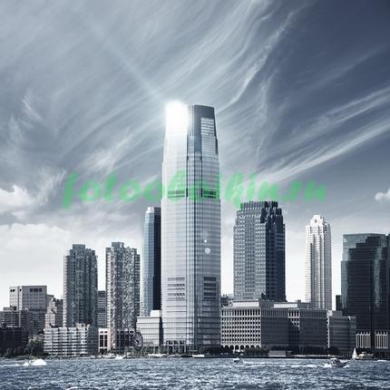 Фотообои Блик на небоскребе