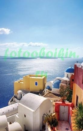 Фотообои Солнечный день в Греции