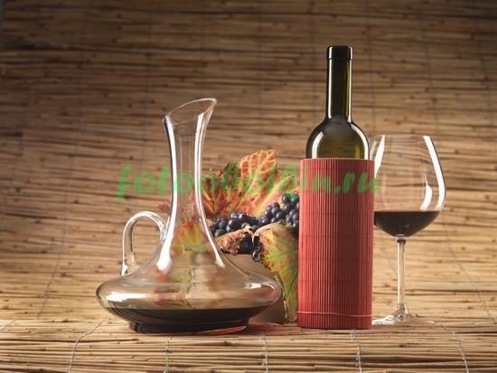 Фотообои Красное вино