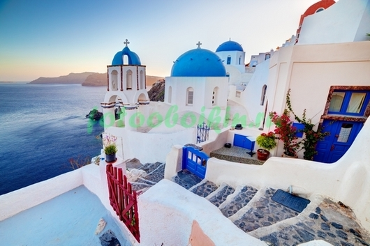 Фотообои Домики в Греции