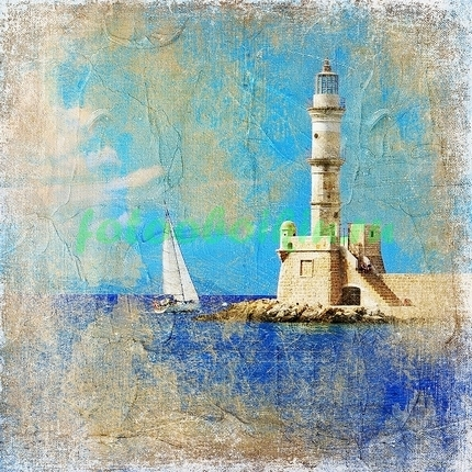Фотообои Фреска маяк