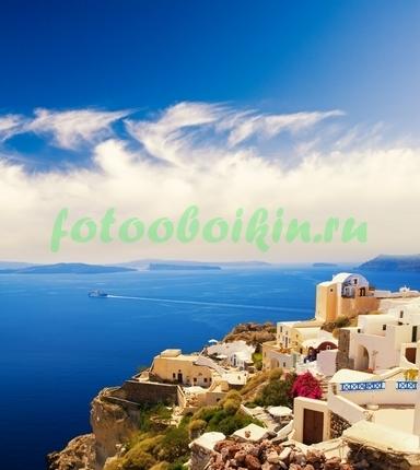 Фотообои Греческий пейзаж