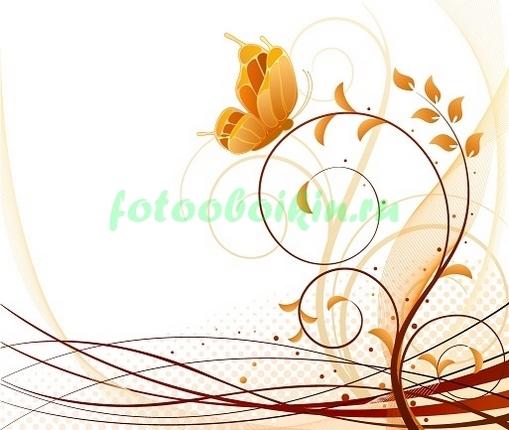 Фотообои Бабочка узор