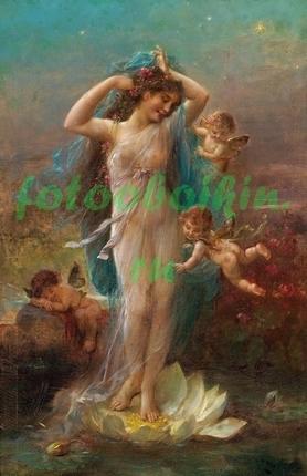 Фотообои Венера и ангелы