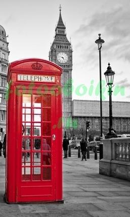 Фотообои Лондон телефонная будка
