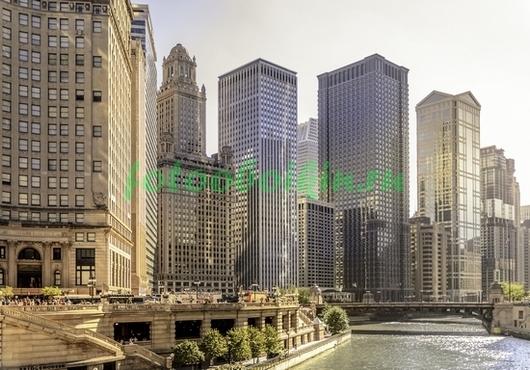 Фотообои Чикаго небоскребы