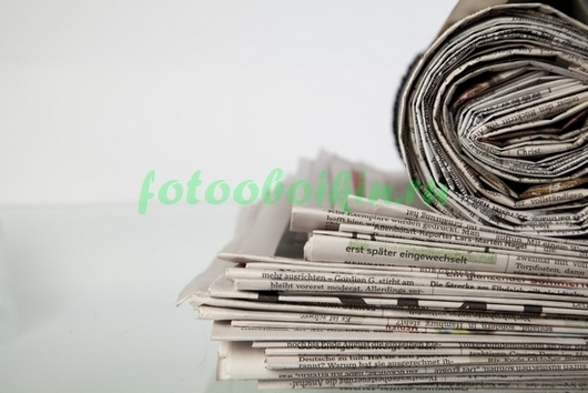 Фотообои Газеты