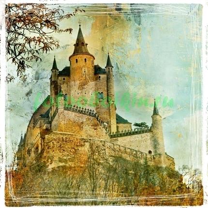 Фотообои Средневековый замок